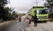 Warga Bayah Kembali Setop Angkutan Material Pabrik Semen Merah Putih