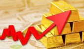 Emas naik tipis meski dolar AS menguat