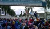 Buruh PT Lung Cheong tuntut hapus perbudakan