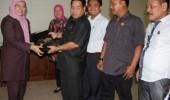 Wakil Ketua DPRD Terima Kunjungan Balegda DPRD Muba
