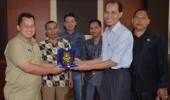 Komisi I DPRD Cilegon Kunjungi DPRD Banten