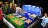 2 Truk Tahu Berformalin Digerebek di Pasar Kranggot Kota Cilegon