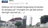 Lecehkan Masjid, Tim RK-Mulya Dikecam Netizen