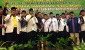 Ribuan Guru Silat TTKDH Deklarasikan Dukungan WH-Andika