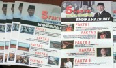Jelang Pencoblosan, Selebaran Kampanye Hitam Beredar Di Masjid