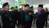 Sebanyak 25 Perguruan Pencak Silat Bandrong Kabupaten Serang, di Lantik.
