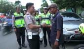 Hari Ke-5 Satlantas Polres Serang Kota Bagi-bagi Takjil dan Buka Puasa Bersama