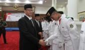 Gubernur Wahidin Kukuhkan 54 Anggota Paskibra Banten