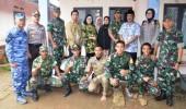 Danjen Akademi TNI, Tinjau Lokasi Latsitardanus di Kec. Petir Kota Serang