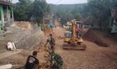 Jalan Tembus  Antara Desa Cimanyangray Gunungkencana Ke Desa Parakan Lima Cirinten Akan Segera Di Resmikan