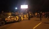 Razia Balap Liar, Jajaran Polres Serang Kota, Amankan Delapan Unit Sepeda Motor Di Kota Serang
