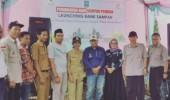 PT.  Cipta Paperia dan Riung Hijau Launching Bank Sampah