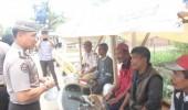 Giat Sedekah Nasi Bungkus Kabid Humas Polda Banten, Bantu Warga Tak Mampu