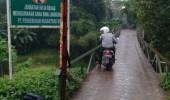 Warga Tiga Desa Di Kecamatan Cimarga Akan Gelar Aksi Demo Jika  Jembatan Cimarga Yang Roboh Tidak Segera Dipetbaiki