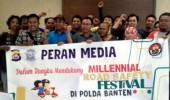 Komunitas Jurnalis Banten Sosialisasikan  Program Millenial Road Safety Festival