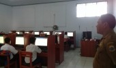 Sebanyak 280 Siswa SMP1 Cibadak Ikuti Simulasi UNBK