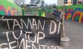 Diduga Pemda Lebak Tolak Serah Terima Aset  Pembangunan Ruang Terbuka Publik  Taman Salahaur Rangkasbitung Dari Provinsi Banten