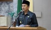 Wakil Bupat Lebak H.Ade Sumardi Sampaikan Pendapat Akhir Raperda RPJMD