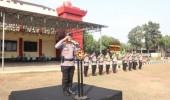 Brimob Polda Banten Laksanakan Apel Gelar Pasukan Power On Hand Kapolri dan Kapolda Banten