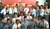 Pemuda Papua Hadiri Launching ROTI Polres Serang