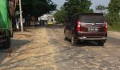 Brantas Lebak Desak Aparat Tegas, Truk Jalan Lalulintas By Pas Mandala Tercemar tanah merah