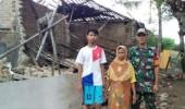 Rumah Warga Ambruk, Dihantam Angin Kencang