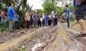 Walikota Serang Cek Kondisi Jalan Rusak di Kecamatan Curug