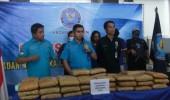 BNNP Banten Gagalkan Penyelundupan Ganja 50 Kg di Dalam Keranjang Buah Asam