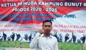 Ahmad Sukendi Ketua Pemuda Terpilih Ajak Pemuda Bunut Jangan Diam