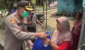 Polres Serang Tebar 4.395 Paket Sembako ke Warga Terdampak Covid 19