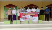 Dirresnarkoba Polda Banten Salurkan Bantuan Keluarga Besar Pesat Gatra Akpol 93 Kepada Pengurus DKM