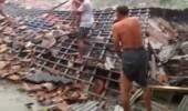 Angin Puting Beliung Menerjang Puluhan Rumah Perkampungan Di Tulang Bawang Lampung