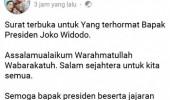 Viral..Imbas Covid 19, Sopir Bus Asal Serang Ini Kirim Surat Ke Jokowi