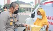 Kapolda Banten Gelar Baksos Di HUT Bhayangkara Ke 74
