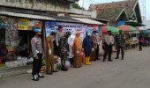 Pedagang Dan Petugas Pasar Puloampel Dilakukan Rapid Test