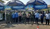 Kabiddokkes Dan Dirsamapta Polda Banten Tinjau Pelaksanaan Rapid Test Di Cilegon