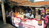 Kapolda Banten Salurkan Bantuan Sembako Ke Masyarakat Pesisir