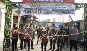 Dukung Program Polri, Bupati Serang Resmikan Kampung Tangguh