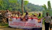 Sambut Hari Bhayangkara ke 74, Polda Banten Gelar Bakti Sosial di TPSA Cilowong