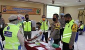 Kapolda Banten cek langsung seleksi Catam Polri T.A.2020 untuk pastikan PRINSIP BETAH
