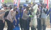 Kapolri Jenderal Pol Idham Azis dan Panglima TNI Marsekal Hadi Tjahjanto Kunjungi Wisata Aquaculture Mangrove di Desa Ketapang Mauk Tangerang