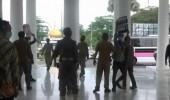 Sejumlah Mahasiswa Geruduk Pemkab Serang Desak Satgas Ciujung Bersih