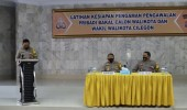 Kapolres Cilegon AKBP Sigit Haryono Buka Pelatihan Calon Walpri Balon Walikota dan Wakil Walikota Cilegon