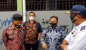 Wakil Walikota Serang Subadri Ushuludin Ngamuk Cek Point Kosong Petugas