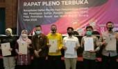 Hasil Pleno, KPU Tetapkan DPS Pilbup dan Wabup Serang 2020