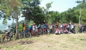 Sepedah Sambil Menjelajah Wisata Alam Mancak Kabupaten Serang