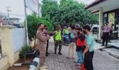 Pelanggar Protokol Kesehatan di Kecamatan Taktakan, diberi Sanksi