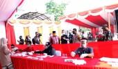 Terapkan Prokes, KPU Kabupaten Serang Simulasi Pemungutan dan Perhitungan Suara