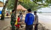 Waspada Gelombang Tinggi, Wisatawan Asal Tangerang Terseret Ombak Di Lippo Carita
