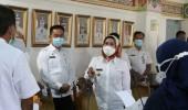 Puluhan Pejabat Pemkab Serang di Suntik Vaksin, Hasilnya Tak Ada KIPI